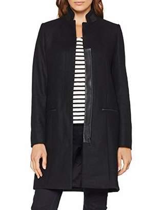 Daniel Hechter Women's Wool Coat (Jet Black 990)