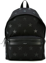 Saint Laurent star patch backpack - men - Polyamide - One Size