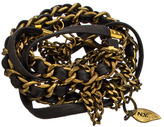 Sara Designs Black Chic Triple Wrap Bracelet