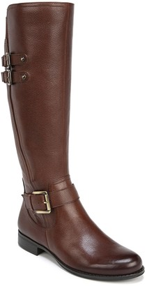 Naturalizer Jessie Leather Riding Boot - Wide Width Available
