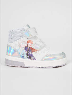 Disney George Frozen 2 Anna and Elsa Light Up Trainer Boots