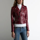 Bally Leather Biker Jacket