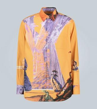 Valentino Exclusive to Mytheresa Yellow City shirt