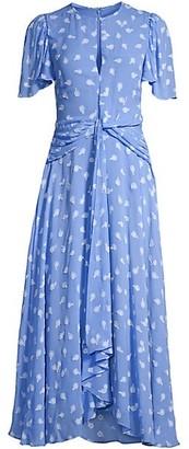 Shoshanna Alita Embroidered Floral Dress