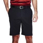 Haggar Cool 18 Flat-Front Shorts