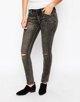 Blank NYC Skinny Jean with Ripped Knees