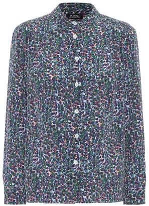 A.P.C. Sutton crepe de chine shirt