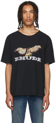 Rhude Black Eagle T-Shirt