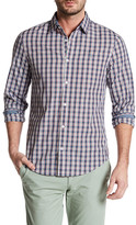 Original Penguin Long Sleeve Checkered Slim Fit Shirt