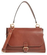 Mulberry 'Small Buckle' Leather Shoulder Bag - Brown