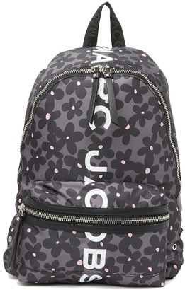 Marc Jacobs Suspiria Floral Logo Print Backpack