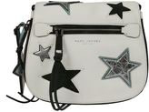 Marc Jacobs White star Patchwork Small Saddle Bag