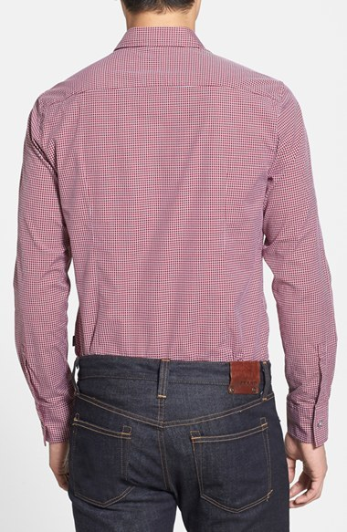 HUGO BOSS 'Ronny' Slim Fit Check Sport Shirt
