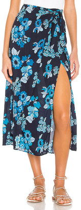 Free People Sunray Sarong Skirt