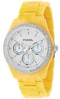 Multifunction White Dial Watch