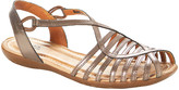 Jafa JAFA Women's Sandals Bronze - Bronze Strappy Crisscross Leather Sandal - Women