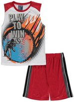 "Mac Henry Big Boys' ""Baseball Win"" 2-Piece Pajamas"