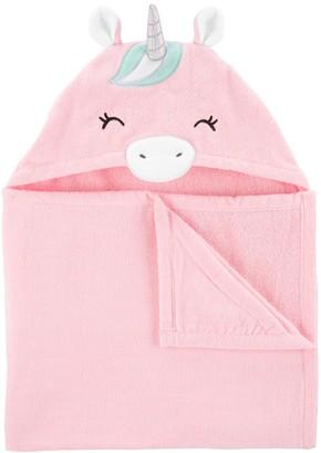 Carter's Baby Girl Unicorn Hooded Towel