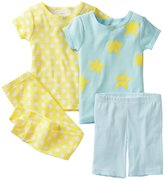 Carter's 4 Piece Cotton Set (Toddler) - Stars-2T