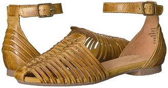 Seychelles Bits N Pieces (Mustard Leather) Women's Sandals