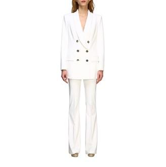 Elisabetta Franchi Suit Long Double-breasted Jacket