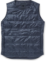 Descente - H.c.s. Quilted Shell Down Gilet