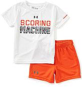 Under Armour Baby Boys 12-24 Months Scoring Machine Tee & Shorts Set