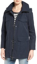 Bernardo Cotton Blend Utility Jacket
