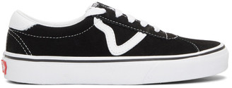 Vans Black and White Sport Sneakers