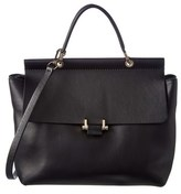 Lanvin Essential Leather Satchel.