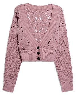 Free People Chloe Cropped Cardigan