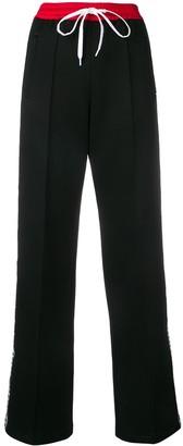 Miu Miu Drawstring Jersey Trousers