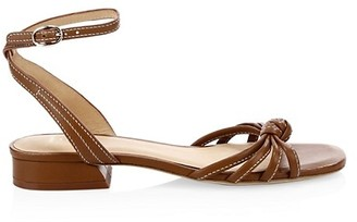 Joie Parsin Ankle-Strap Leather Sandals