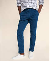 Express slim garment dyed stretch chino