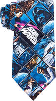 Star Wars Men's A New Hope Poster Panel Conversational Tie