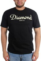 Diamond Supply Co. Mens Champagne Script T-Shirt