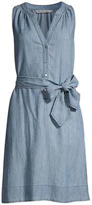 Trina Turk Anemones Tie-Waist Dress
