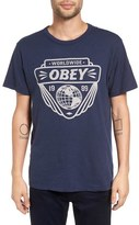 Obey Men's 'Union Worldwide' Graphic T-Shirt