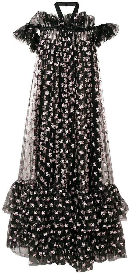 Giambattista Valli floral-printed maxi dress