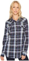 Roper 1000 Moonlight Plaid Women's Clothing