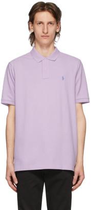 Polo Ralph Lauren Purple Mesh Iconic Polo