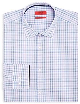 HUGO BOSS Bold Checked Regular Fit Dress Shirt