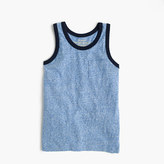 J.Crew Boys' heather ringer tank top