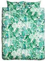 H&M King/Queen Duvet Cover Set - Green