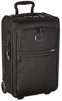 Tumi Alpha 3 International Expandable 2 Wheeled Carry-On (Black) Luggage