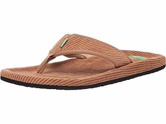 Sanuk Men's Furreal Classic Cord Flip-Flop