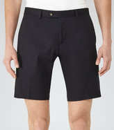 Reiss Reiss Statten S - Tailored Shorts In Blue, Mens