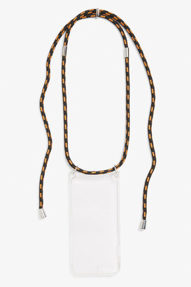 Monki Phone holder necklace