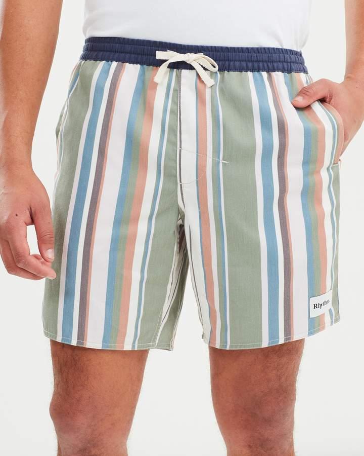 rhythm Vacation Stripe Jam Shorts