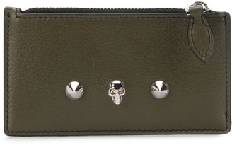 Alexander McQueen Small Studded Zip Pouch
